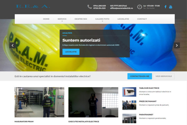 Site Eurom Electric
